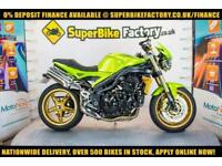 2007 57 TRIUMPH SPEED TRIPLE 1050 0% DEPOSIT FINANCE AVAILABLE