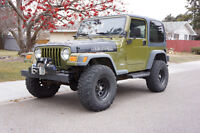 1997 Jeep TJ SE, Great shape with Low miles, Adult owned