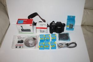 CANON OES30D/7 BATTERIES/BATTERY GRIP/BAG MORE.