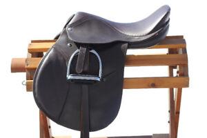 """16"""" leather saddle"""