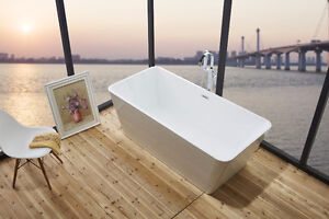 """FREE STANDING ACRYLIC BATH TUBS 66"""" / 67"""" ON SALE ! LOWEST PRICE"""