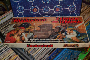 RARE 1983 Shadowlord board game 100% COMPLETE Bilingual Version