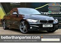 2015 BMW 4 Series 2.0 420I M SPORT 4,000 MILES CONVERTIBLE 2d 181 BHP Convertibl
