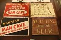 Great Man Cave Signs