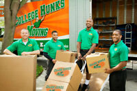 College HUNKS- Junk Removal by Tomorrow's Leaders!