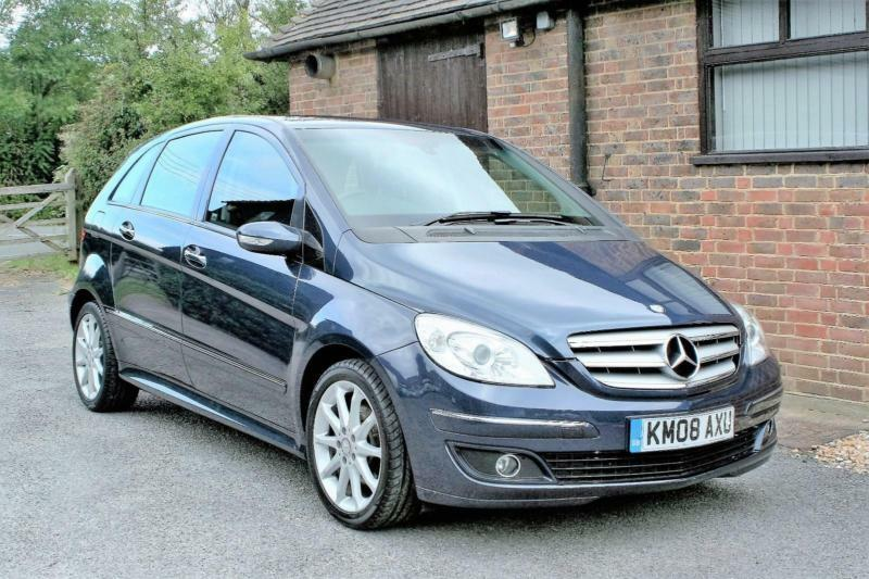 2008 mercedes b200 cdi se automatic 46000 miles service history in atoll blue in horsham. Black Bedroom Furniture Sets. Home Design Ideas