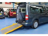 Volkswagen Caddy Wheelchair Car 5 seat mobility accessible vehicle disabled 2010
