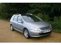 DIESEL ESTATE 7 SEAT Peugoet 307 done 101781 Mile with NEW CAM BELT and WARRANTY