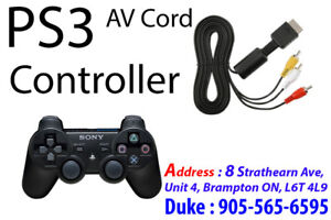 * Sony PlayStation3 Parts PS3 Video Cable, AV Cord