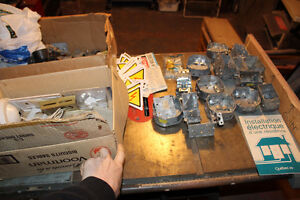 HUGE LOT electicial hardware ceiling fans fixtures fittings