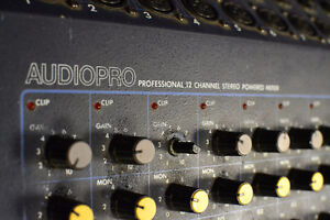 12 and 24 Channel Mixing Boards