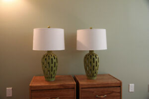 2 Bed Side Lamps