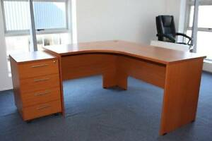LUXURY DESK (STELLA) WITH RETURN AND 4 DWER MOBILE - NEAR NEW Hawkesbury Area Preview