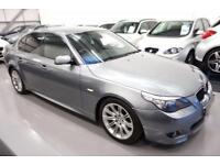 2008 08 BMW 5 SERIES 2.0 520D M SPORT 4D AUTO 175 BHP DIESEL