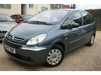 Citroen Xsara Picasso 1.6i 16v 110hp VTX+APRIL 2018 MOT+LOW MILEAGE+2 OWNERS