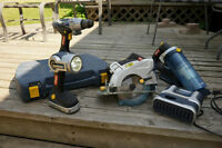 Mastercraft 18 volt Cordless Hammerdrill Package
