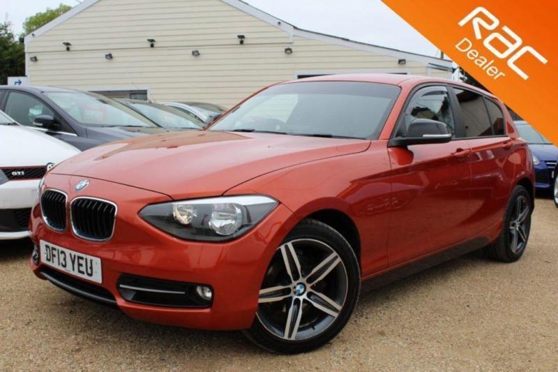 2013 13 BMW 1 SERIES 2.0 116D SPORT 5D 114 BHP DIESEL - RAC DEALER