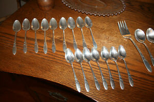 Vintage Lady Hampton Flatware