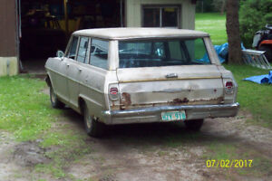 TAILGATE FOR 1962 TO 1965 NOVA OR CHEVY 11 STATIONWAGON
