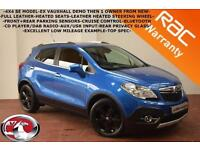 2014 Vauxhall Mokka 1.7CDTi 16v ( 130ps ) 4X4 ( s/s ) SE-HEATED LEATHER-B.TOOTH-