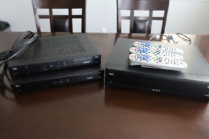 Bell HD PVR & (2) HD Receivers