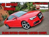 2013 13 AUDI A5 2.0 TDI BLACK EDITION 2D 177 BHP + £30 RFL + LEATHER + TEC