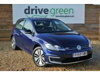 2019 Volkswagen Golf 35.8kWh e-Golf Auto 5dr Hatchback Electric Automatic