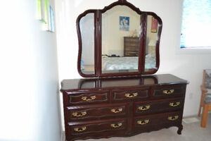 French Provincial  Bedroom suite (5 pieces)