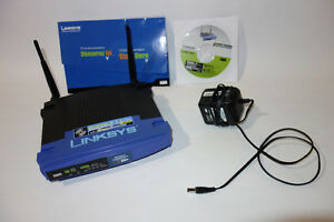 Linksys Router WRT54GS - $20