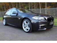 2011 61 BMW 5 SERIES 3.0 535D M SPORT TOURING 5D AUTO 295 BHP DIESEL
