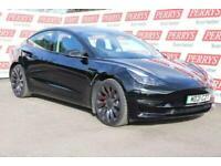 2021 Tesla MODEL-3 Performance Awd Auto Saloon Petrol Automatic