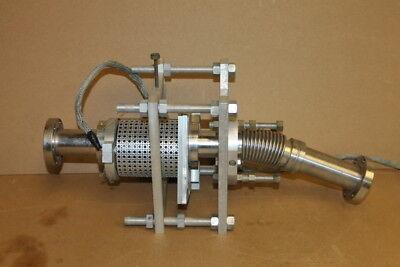 Vacuum Heater Bakeout Flex Extension 2.75 Conflat 18 Oal