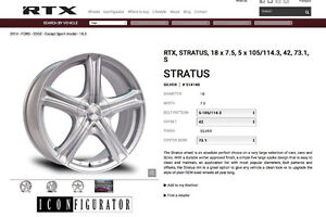 Four - 18inch RiMS - ALUMINUM WHEELS WITH SENSORS