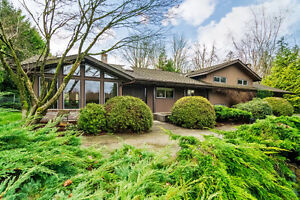 4 bdrm, 3 level split home on 5.19 ACRES in Langley