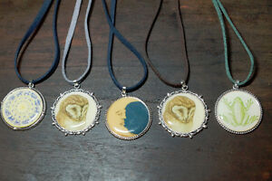 Animal pendant Necklaces! Handmade One of a Kind
