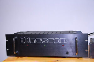 BRYSTON 3B POWER AMP, EXCELLENT COND SERVICED MINT,shipping box