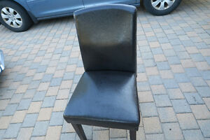 Faux leather dining chair Peterborough Peterborough Area image 1
