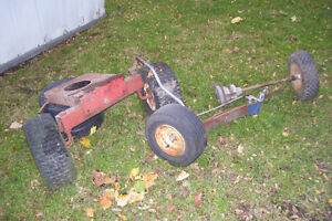 LAWN TRACTOR FRONT AXEL & PARTS London Ontario image 1