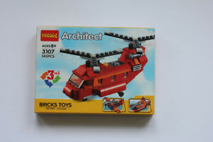 Building Block Model Kit (3 in 1)