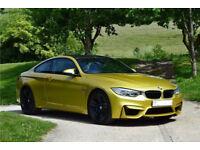 2015 BMW M4 Austin Yellow, Carbon pack, Harmon Kardon, DCT, Adaptive LED Lights.