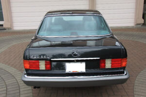 Mercedes-Benz 420SEL is Ready for Collector Plate