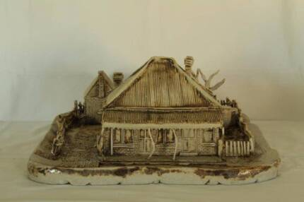 Bryants the Butcher - Large Colonial Homestead Pottery Miniature