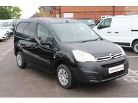 2016 Citroen Berlingo L1 625 ENTERPRISE HDI 75 Diesel black Manual