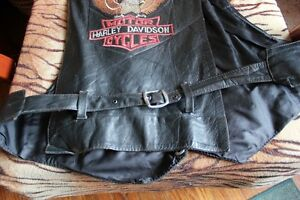 1970's HARLEY DAVIDSON Leather Vest (VIEW OTHER ADS) Kitchener / Waterloo Kitchener Area image 9