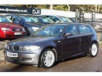 2008 08 BMW 1 SERIES 2.0 120D M SPORT 5D 175 BHP DIESEL