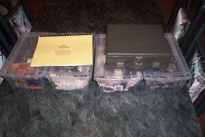 Olson KB-142 tube tester and 4 boxes vacuum tubes.