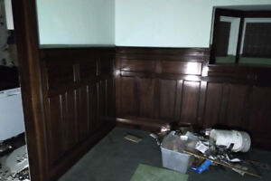 Wainscoting Set  - Vintage/Antique, 1920's, Dark Stained Wood