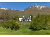 Housekeeping assistant at Luxury Holidays Cottages in Loch Tay, Scotland