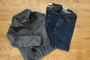 Abercrombie Boys Jkt and Jeans Size 13-14