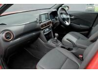 2018 Hyundai Kona 1.0 T-GDi (120ps) Premium SE (2 Tone Roof) 2WD Petrol orange